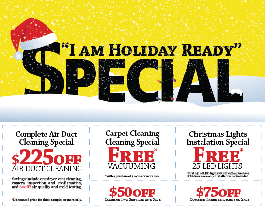 I am holiday ready coupons from scrub a duct for air duct and dryer vent cleaning in NJ